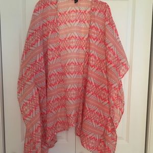 Forever 21 Aztec print cover up